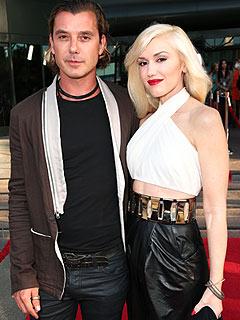 Gavin Rossdale, Gwen Stefani Love Kissing