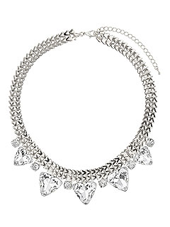 Dorothy Perkins Sparkly Rhinestone Necklace