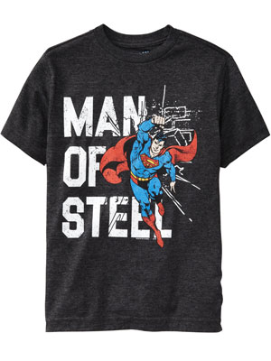 Old Navy Man of Steel T-Shirt