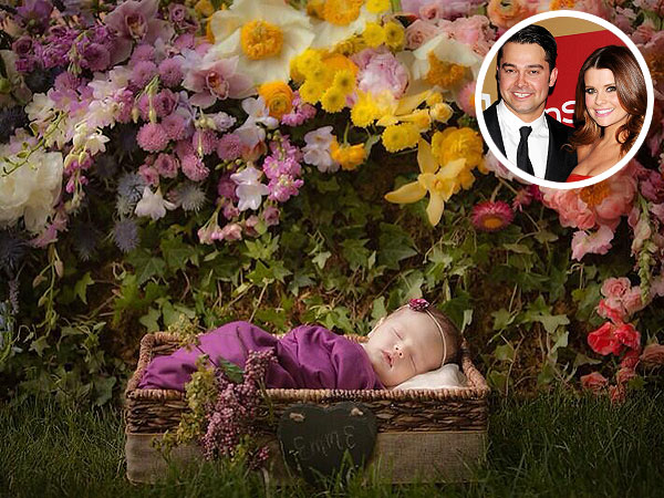 Nick Swisher Joanna Garcia Swisher Daughter Emerson First Photo