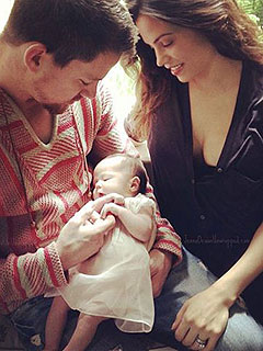 Channing Tatum Jenna Dewan-Tatum Daughter Everly