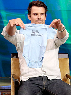 Josh Duhamel Fergie Expecting Son