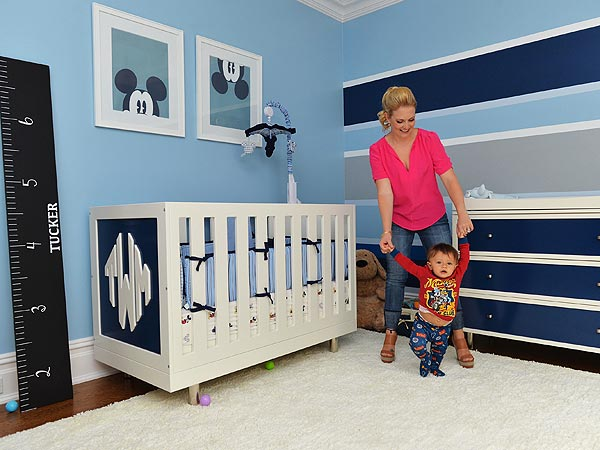 Melissa Joan Hart Son Tucker Nursery Disney Paint