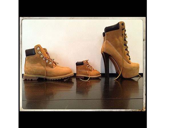 Beyonce Timberland Shoes Instagram Photo Blue Ivy Jay-Z