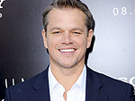 Matt Damon's Daughter Drummed on His Bald Head