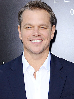 Matt Damon Describes His Secret 'Man Area' at Home