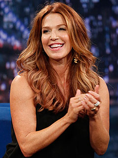 Poppy Montgomery Late Night with Jimmy Fallon