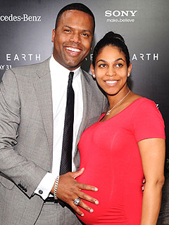 AJ Calloway Welcomes Daughter Amy Belle