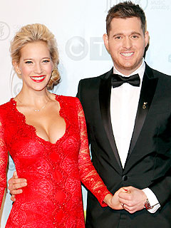 Michael Buble Luisana Lopilato Welcome Son Noah