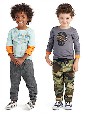 FabKids Boys Collection Christina Applegate