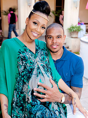 Monica Shannon Brown Baby Shower