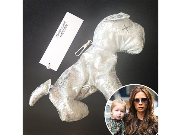 Victoria Beckham Daughter Harper Christopher Raeburn Doggie Purse
