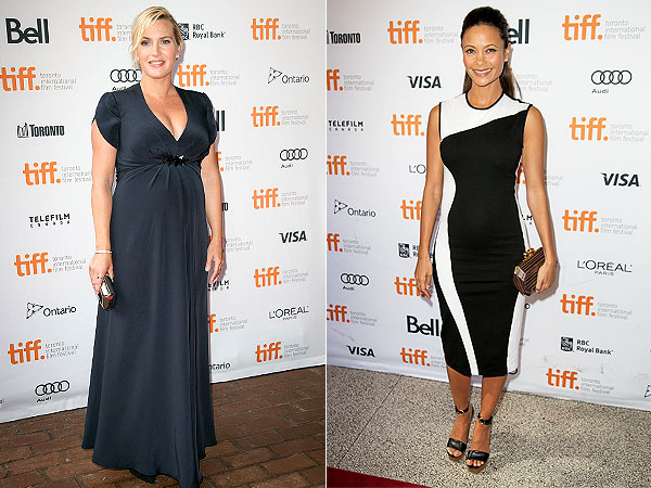 Thandie Newton Kate Winslet Pregnant Toronto International Film Festival Style