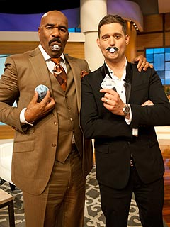 Michael Buble Steve Harvey