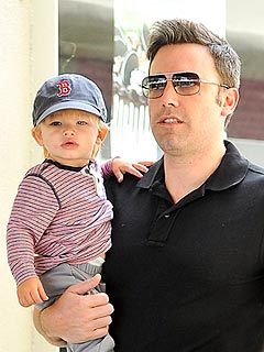 Ben Affleck Son Samuel Boston Red Sox Hat