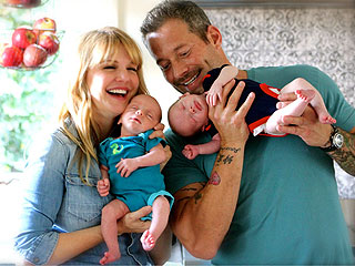 Meet Kathryn Morris and Johnny Messner's Twin Sons