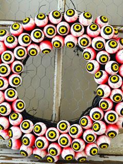 Eyeball Wreath A Pretty Life in the Suburbs