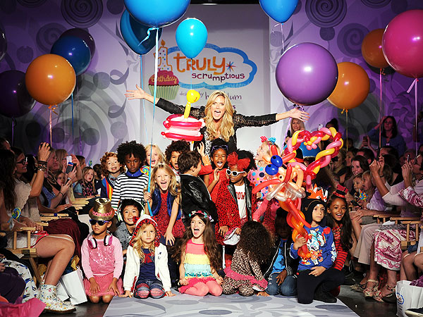 Heidi Klum Truly Scrumptious Petite Parade Photos