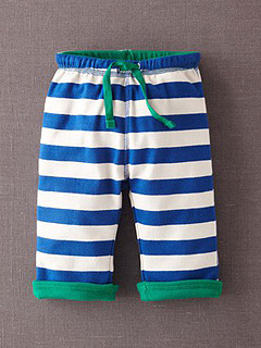 Boden Mini Reversible Jersey Pants