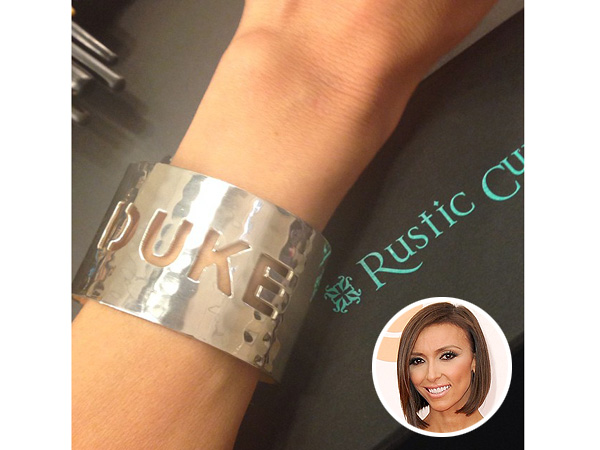 Giuliana Rancic Duke Bracelet by Rustic Cuff