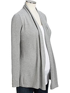 Old Navy Maternity Open Front Cardi