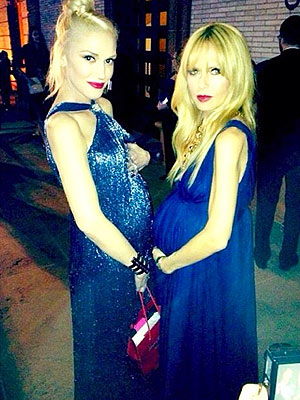 Gwen Stefani Rachel Zoe Pregnant