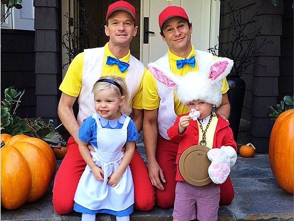 Neil Patrick Harris Twins Halloween Costumes
