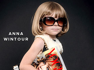 Anna Wintour! Karl Lagerfeld! Check Out These Adorable Kids Fashion Icons Costumes