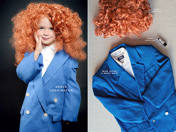 Grace Coddington Kids Costume Oh Happy Day