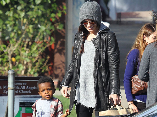 Sandra Bullock All Saints Blake Jacket