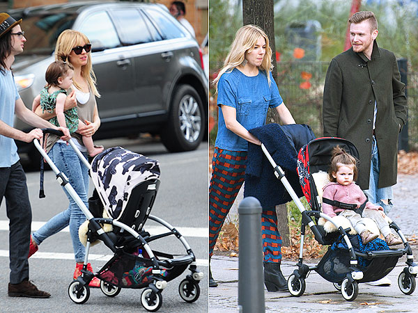 Sienna Miller Bugaboo Bee Andy Warhol Daughter Marlowe