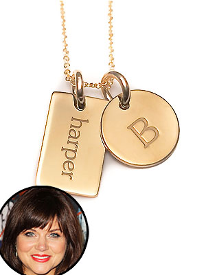 Tiffani Thiessen Tiny Tags Harper Necklace