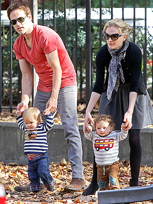 Anna Paquin Stephen Moyer Twins Boden Clothing