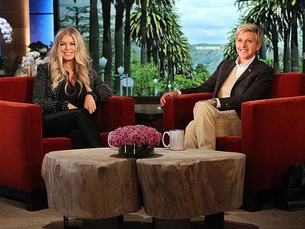 Fergie The Ellen Show