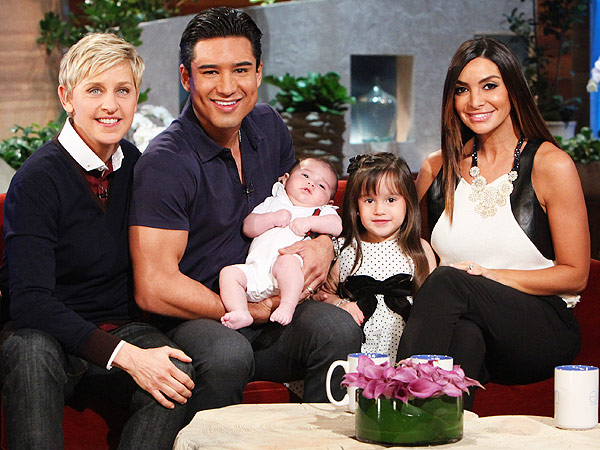 Mario Lopez Son Dominic First Photo