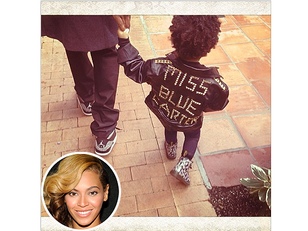 Beyonce Blue Ivy Jacket Jay-Z Birthday