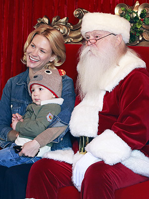 January Jones Xander Santa