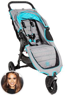 Jessica Alba Baby Jogger Stroller