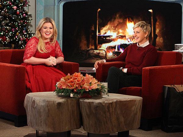 Kelly Clarkson Ellen DeGeneres