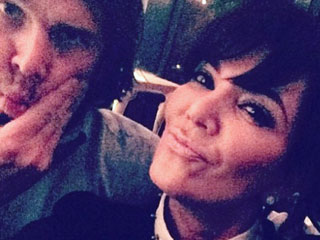 Kris Jenner Posts 'Date Night' Photo with Ben Flajnik
