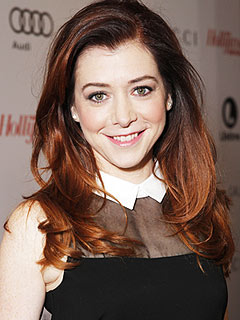 Alyson Hannigan Hollywood Reporter Women in Entertainment