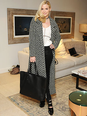 Jaime King Parker Holiday Party