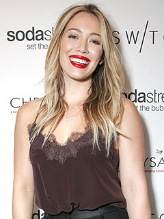 Hilary Duff SodaStream Shopping Event