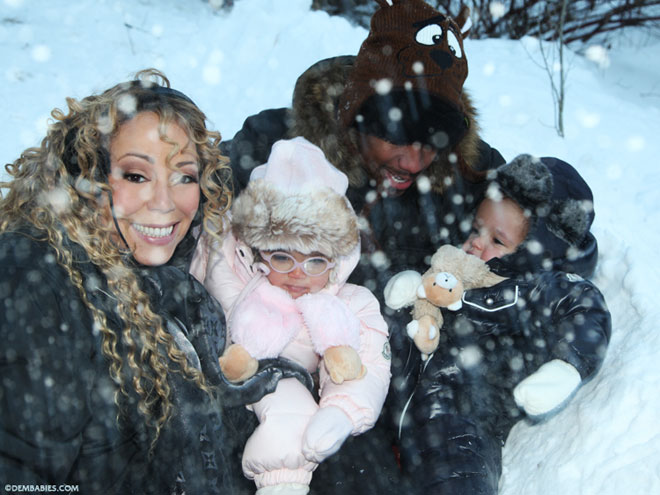SNOW DAY photo | Mariah Carey