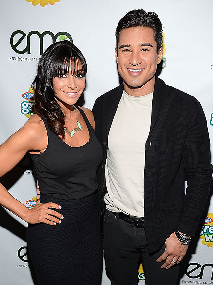 MARIO & COURTNEY LOPEZ photo | Mario Lopez
