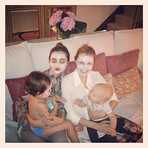 Celeb Babies Fabulous Lives: North West, Blue Ivy, Harper ... Miranda Kerr Instagram