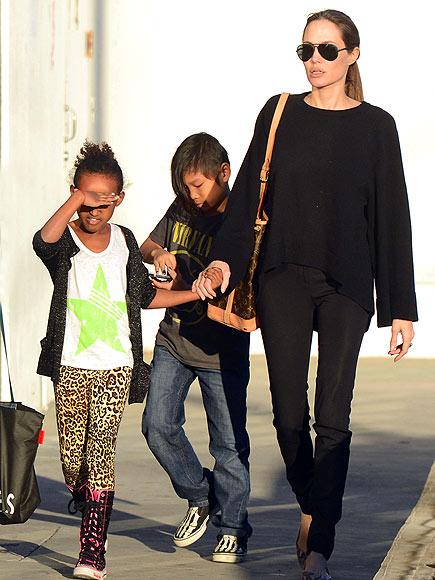 LOS ANGELES photo | Angelina Jolie