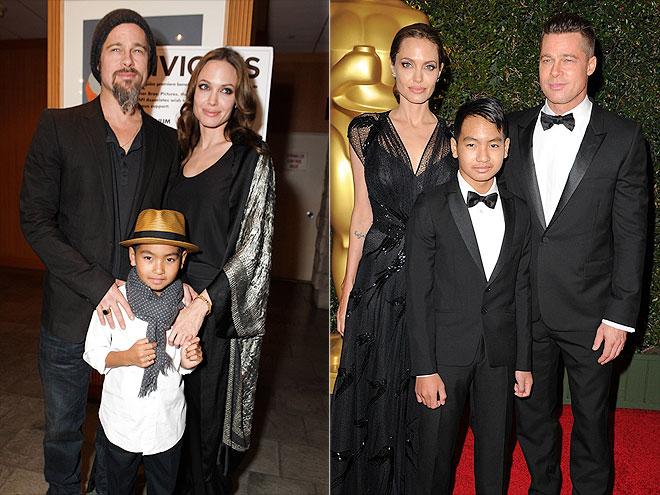 Maddox Jolie-Pitt, Ava Phillippe, Jaden Smith: Celeb Kids ... брэд питт и анджелина джоли