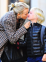 Naomi Watts, David Beckham and Miranda Kerr: Stars Kissing Their Kids