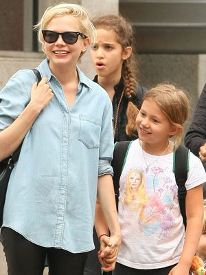 Matilda Ledger Wears Tee with Mom Michelle Williams's Face On It